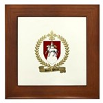 SAINT-PIERRE Family Crest Framed Tile