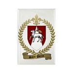 SAINT-PIERRE Family Crest Rectangle Magnet (10 pac