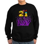 21st Birthday Party Favors! Sweatshirt (dark)