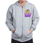 21st Birthday Party Favors! Zip Hoodie