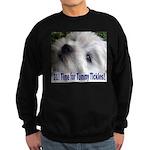 21st Birthday Gifts, Westie T Sweatshirt (dark)