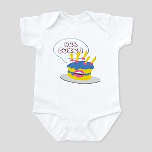 GET CAKED Infant Bodysuit