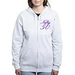 Nifty Fifty, 50th Women's Zip Hoodie