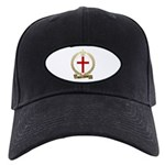 SAINT-GEORGE Family Crest Black Cap