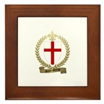 SAINT-GEORGE Family Crest Framed Tile