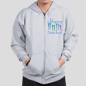 70th Birthday Zip Hoodie