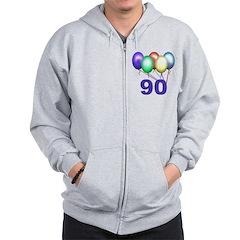 90 Gifts Zip Hoodie