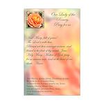Autumn Rose Ave Maria Mini Poster Print