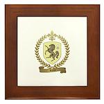 ROUX Family Crest Framed Tile