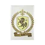 ROUX Family Crest Rectangle Magnet (10 pack)