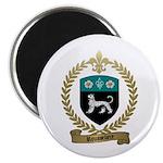 ROUSSELIERE Family Crest Magnet