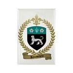 ROUSSELIERE Family Crest Rectangle Magnet (100 pac