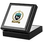ROUSSELIERE Family Crest Keepsake Box