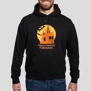 Haunted Halloween Hoodie (dark)
