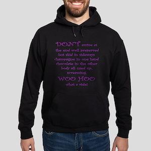 Funny aging poem Hoodie (dark)