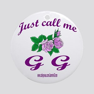 GG Ornament (Round)