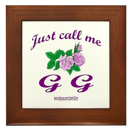 GG Framed Tile