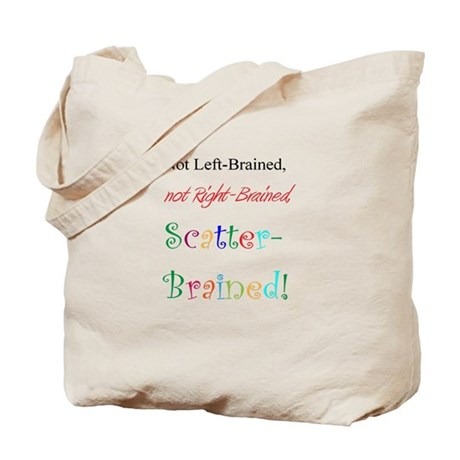 Scatter-Brained! Tote Bag