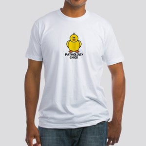 Pathology Chick Fitted T-Shirt