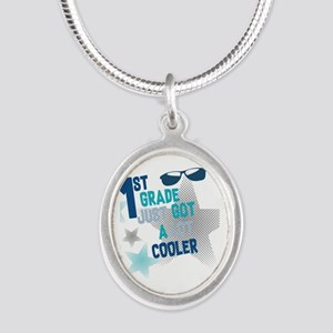 1st Grader First Day of school First Gra Necklaces