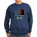 Jesus Saves Before... Sweatshirt (dark)