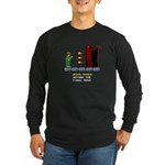 Jesus Saves Before... Long Sleeve Dark T