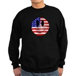 USA Smiley Sweatshirt (dark)