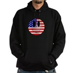 USA Smiley Hoodie (dark)