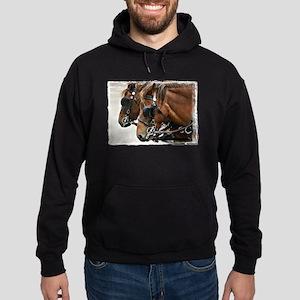 Carriage Horse Hoodie (dark)