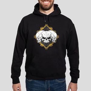 Skulls in Frame Hoodie (dark)