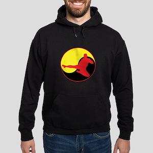 Yin Yang Kicker Hoodie (dark)