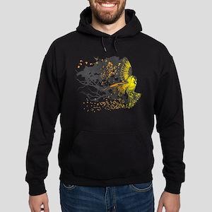 Gold Finch Hoodie (dark)