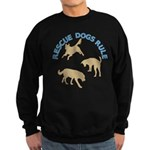 Rescue Dogs Rule Shadow Dogs Sweatshirt (dark)
