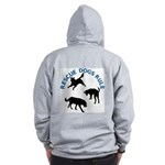 Rescue Dogs Rule Shadow Dogs Zip Hoodie