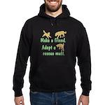 Adopt a Mutt Hoodie (dark)