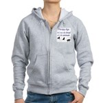 Best Therapy Breed Women's Zip Hoodie
