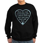Open Your Heart Sweatshirt (dark)