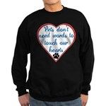 Touch Your Heart v4 Sweatshirt (dark)