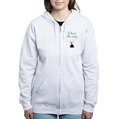Love the Wag Zip Hoodie