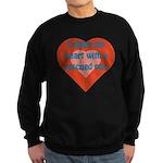 I Share My Heart Sweatshirt (dark)