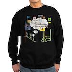 Snooker Math Sweatshirt (dark)