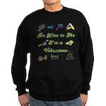Agility Volunteer Sweatshirt (dark)