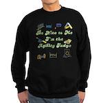 Agility Judge Nice Sweatshirt (dark)
