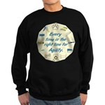 Agility Time v 2 Sweatshirt (dark)