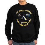 Happy Q-Less Sweatshirt (dark)