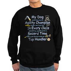 Agility Champion Sweatshirt (dark)