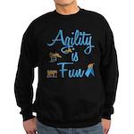 Agility is Fun Sweatshirt (dark)
