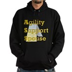 Agility Support Spouse Hoodie (dark)