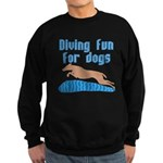 Diving Dog Sweatshirt (dark)
