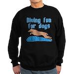 Diving Dog Sweatshirt (dark)